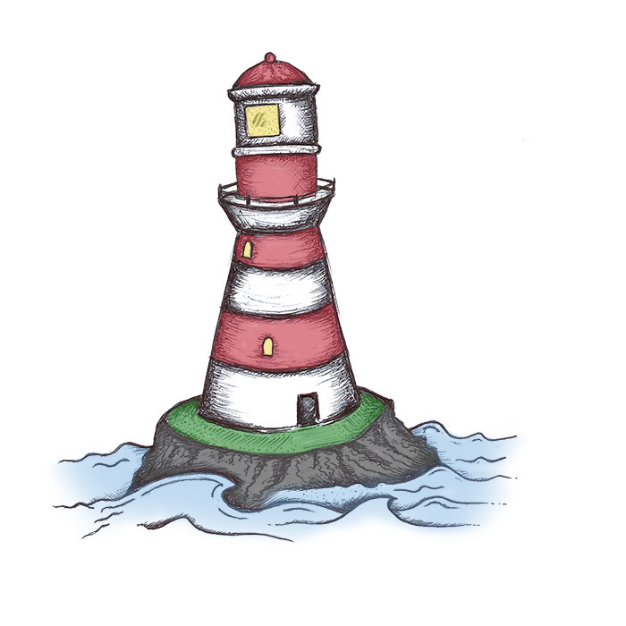 Lighthouse drawing